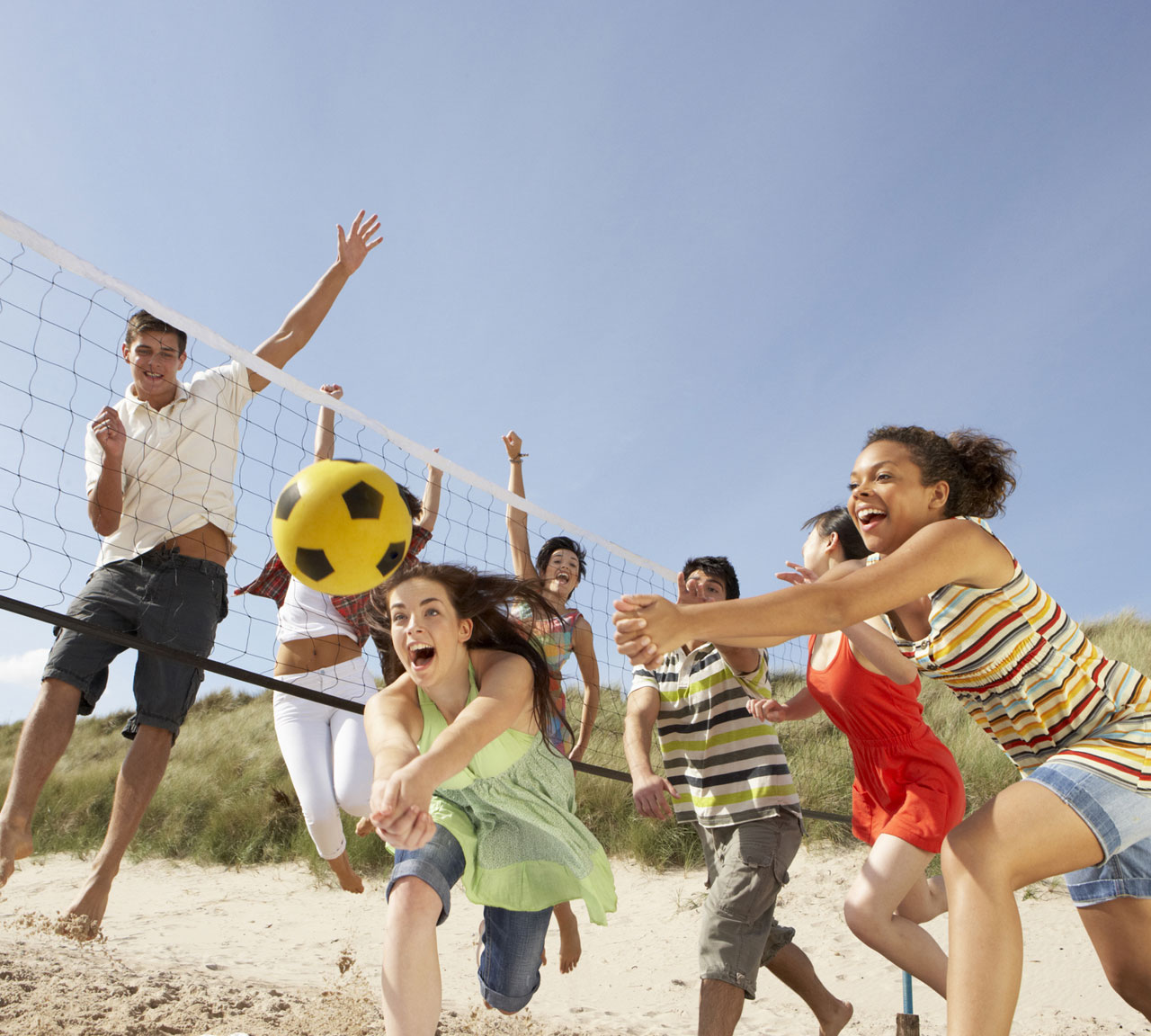 Beach Volleyball in Saugeen Shores